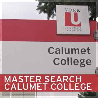 MASTER SEARCH CALUMET COLLEGE