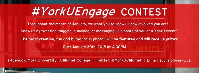 Calumet YorkU Engage contest