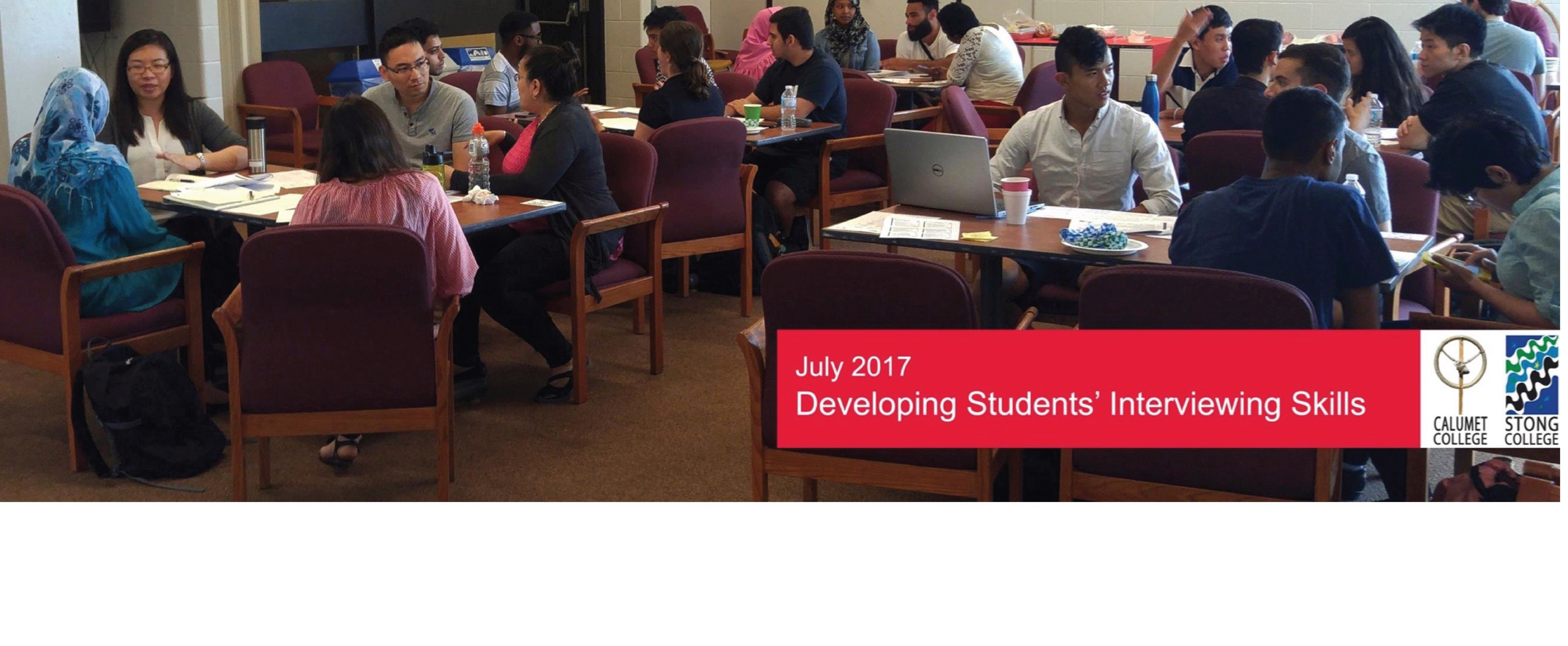 Developing Students' Interviewing Skills