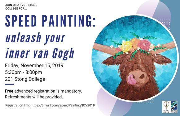 Speed Painting: Unleash your inner van Gogh @ SC 201