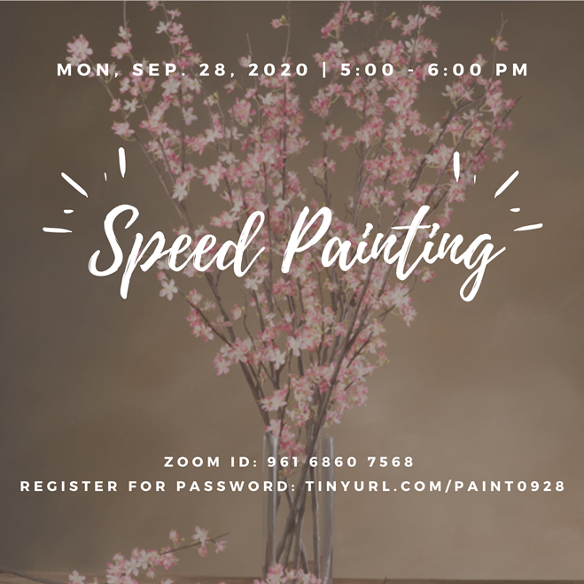 SPEED PAINTING WORKSHOP POSTER