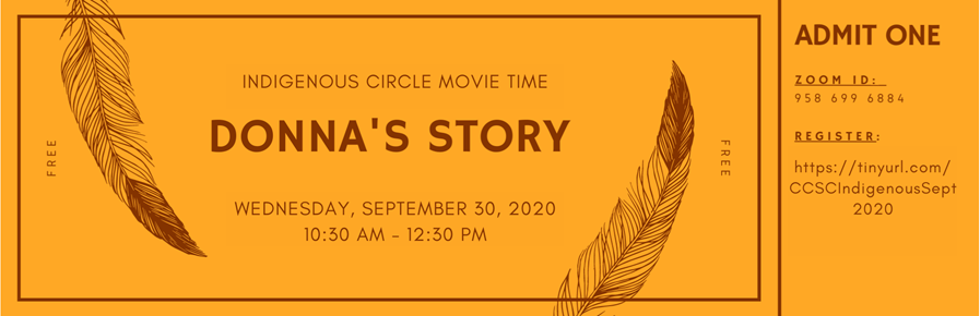 INDIGENOUS CIRCLE MOVIE TIME @ Zoom Meeting ID: 958 699 6884