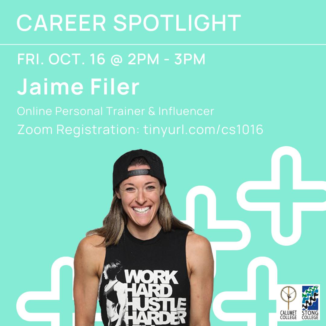 Jaime Filer Event Poster