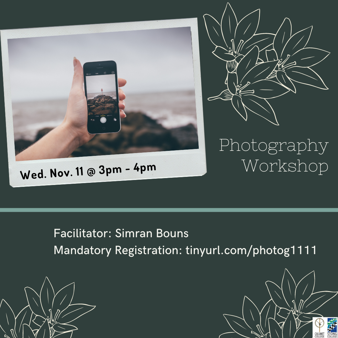 Photography Event Poster