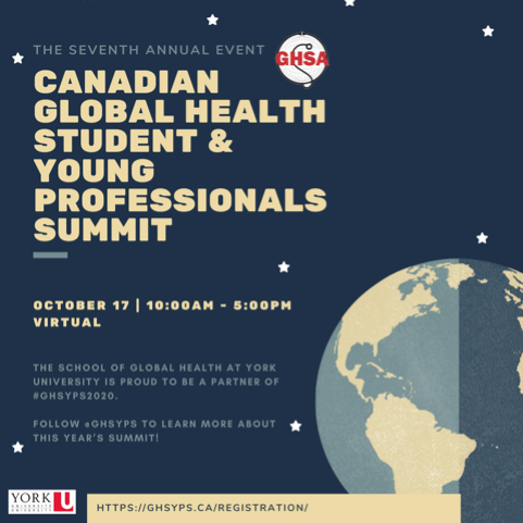 GHS & Young Professionals Summit Event Poster
