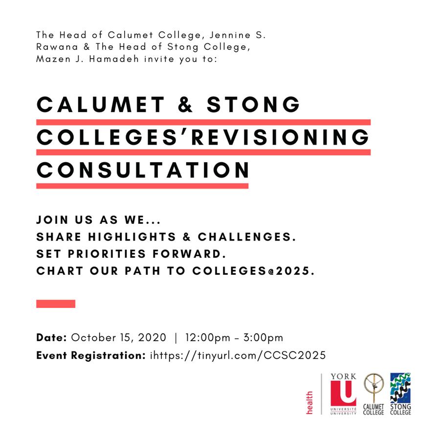 CCSC Revisioning Consultation Event Poster