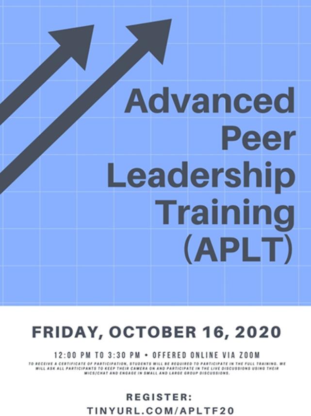 APLT Event Poster