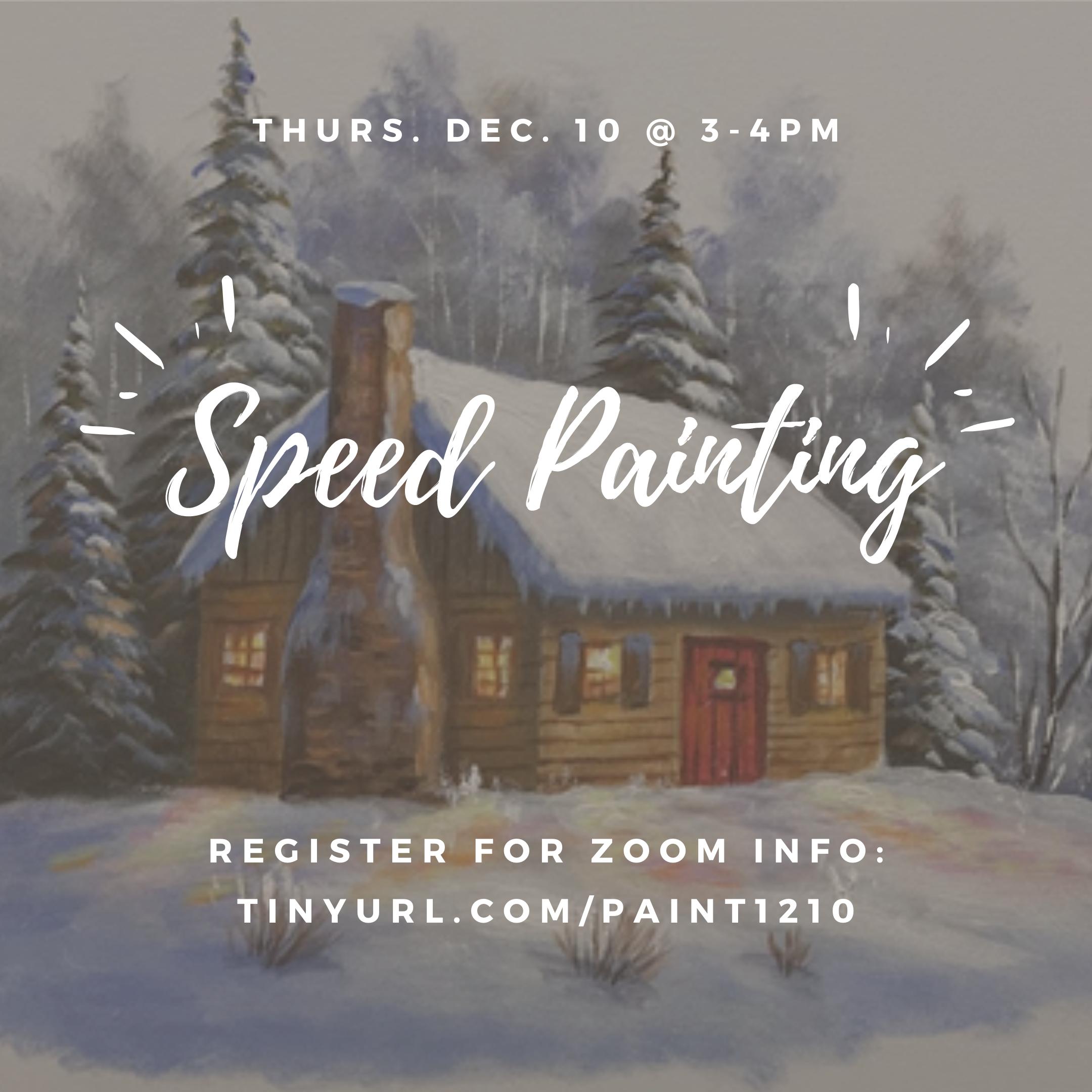 Speed Painting @ Zoom Meeting ID: 913 1095 7244