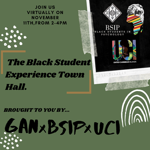 The Black Student Experience Virtual Town Hall