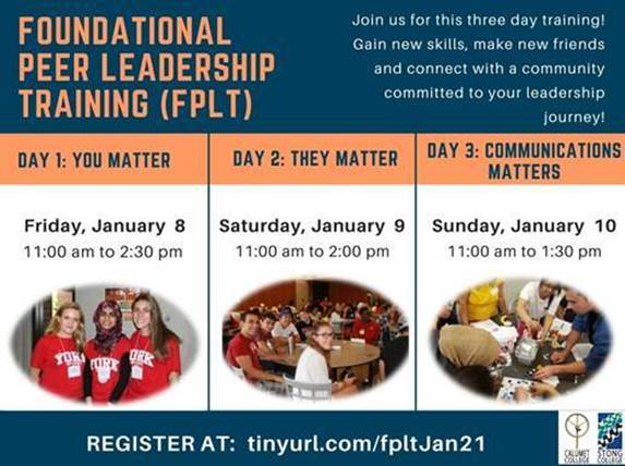 Foundational Peer Leadership Training (FPLT)
