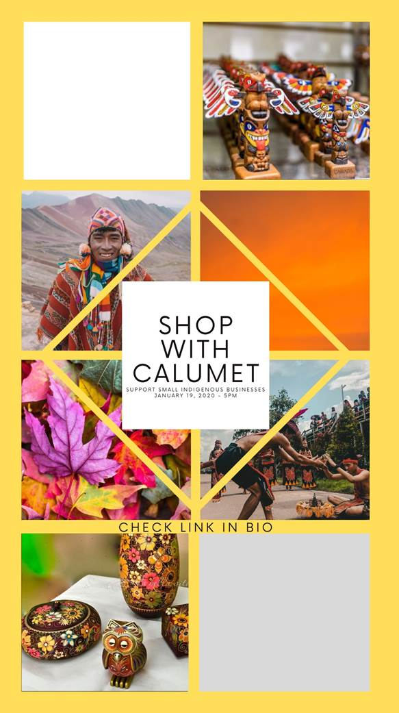 Calumet College Council Presents: Shop With Calumet @ Instagram