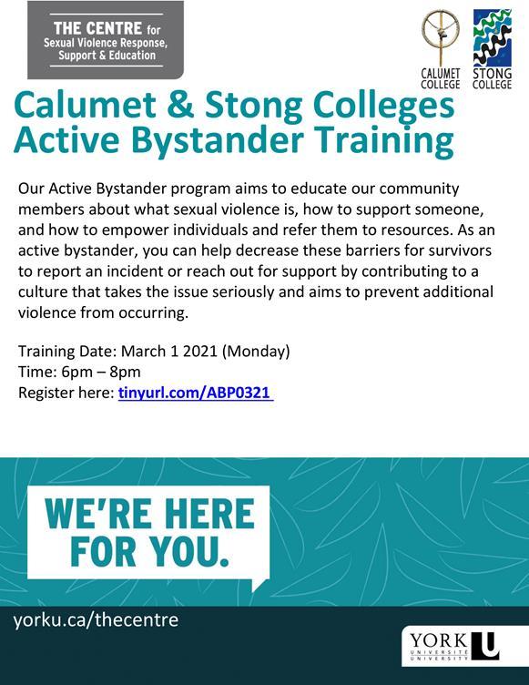 CCSC Active Bystander Training