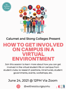 Meet & Greet - How To Get Involved On Campus In A Virtual Environment