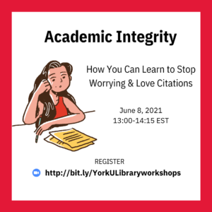 Academic Integrity: How You Can Learn to Stop Worrying and Love Citations