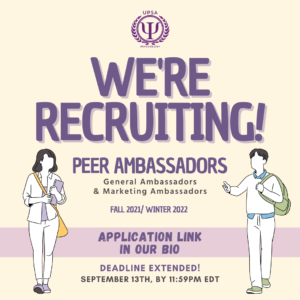 Deadline: UPSA is Recruiting!