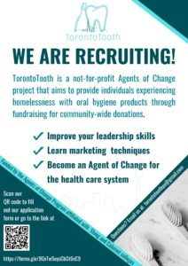 Deadline: Apply to be part of Toronto Tooth