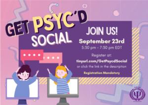 UPSA Get PSYC'D Social