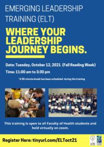 Emerging Leadership Training (ELT)