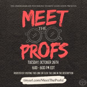 UPSA: Meet the Profs!